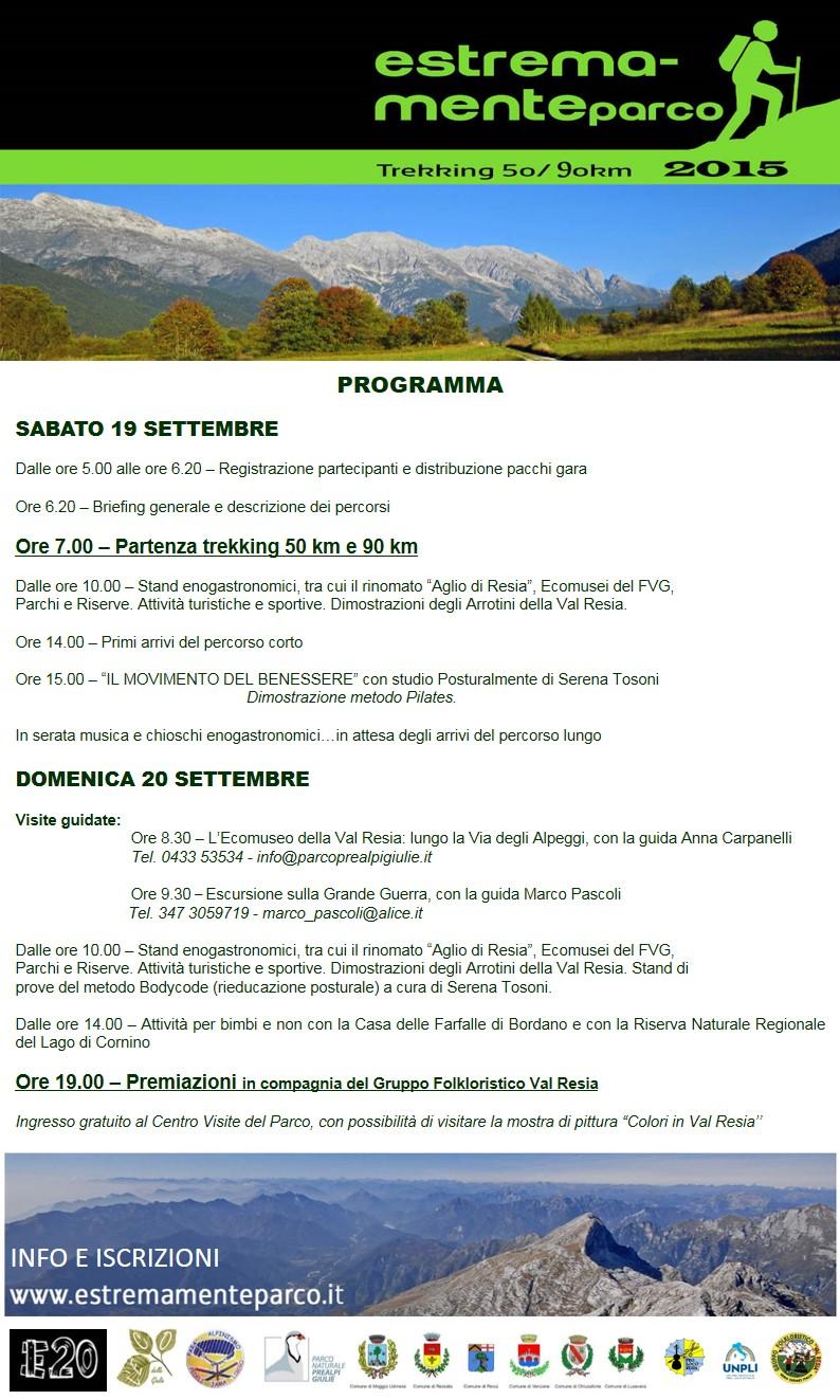 Programma Estremamente Parco 2015