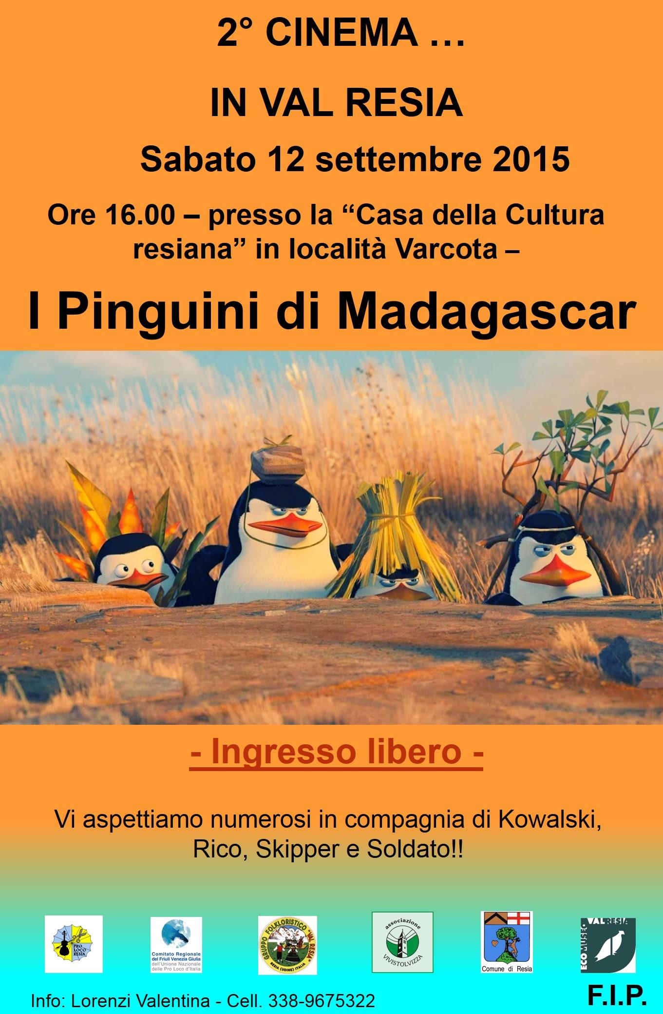 i pinguini di madagascar 2015