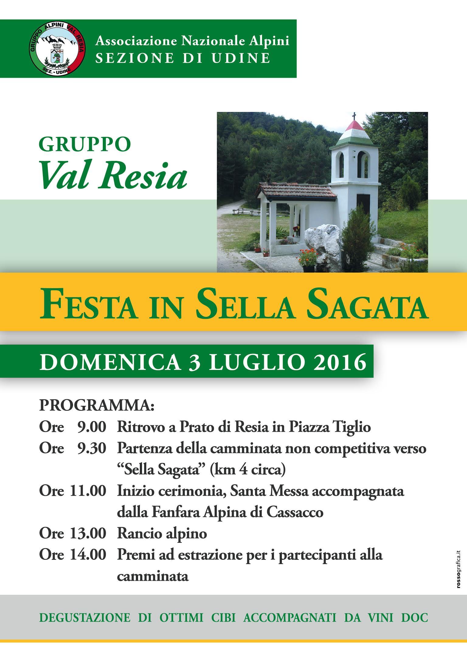 Festa in Sella Sagata 2016